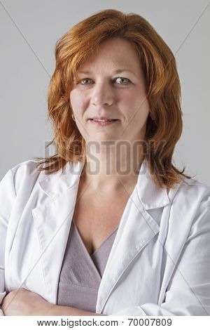 Portrait Of A Woman Doctor