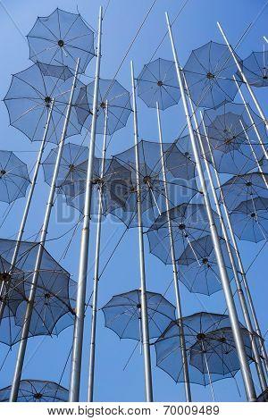 Thessaloniki Umbrellas Sculpture