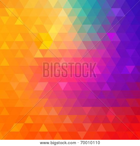 Colorful Bright Geometric Background.