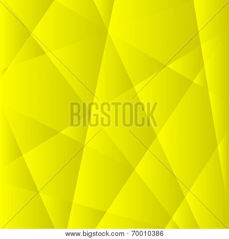 Abstract Yellow Geometric Background.