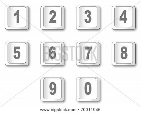 Computer Key Numbers