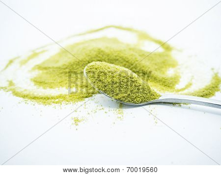 Heart Shaped Green Tea