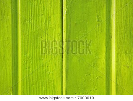 detail of green wall siding on house poster