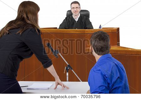 Courtroom Trial