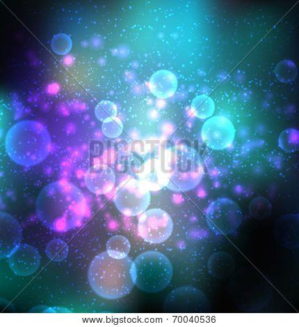 abstract vectoral space background