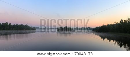 Panorama Of The Morning Mist