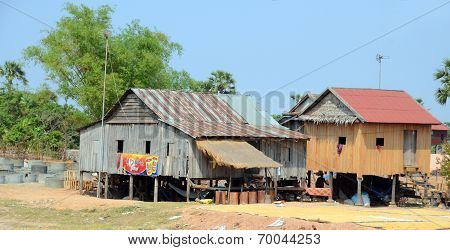 Typical village rural house