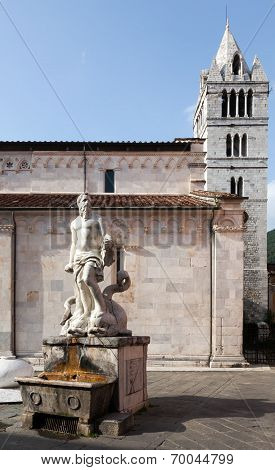 The 16th Century Fountain in Carrara