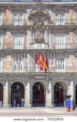 Madrid. Plaza Mayor. Bakery Casa De La Panaderia