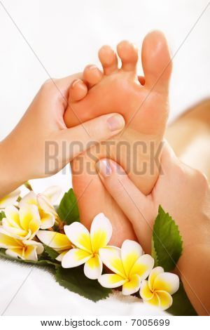 Exotic foot massage
