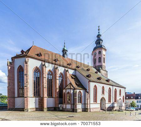 Stiftskirche Church Baden-baden