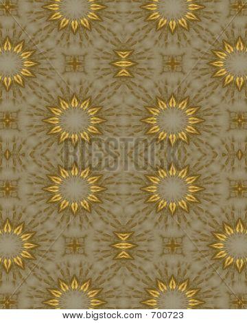 Gold Daisy Wallpaper