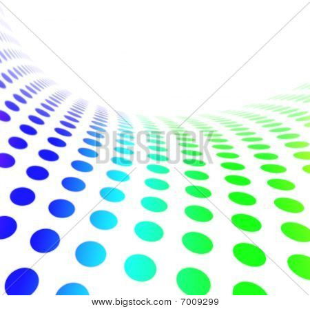 Abstract Dot Pattern Gradient