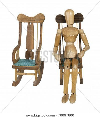 Survivor Of Couple In Rocking Chair Alone