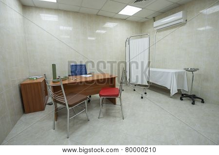 Doctors Consultation Room In Hospital