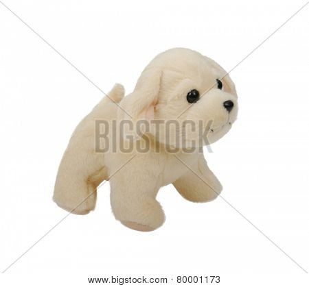 puppy toy isolated on white background