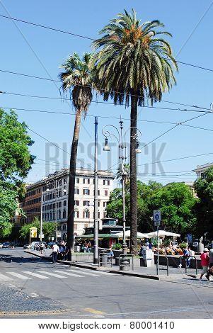 Rome City Street Life On May 30, 2014