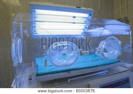 Infant Incubator In A Hospital Ward