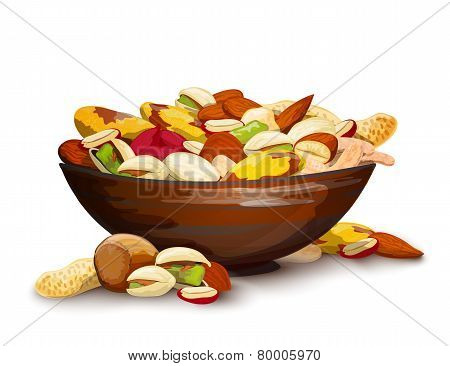 Cup With Nuts
