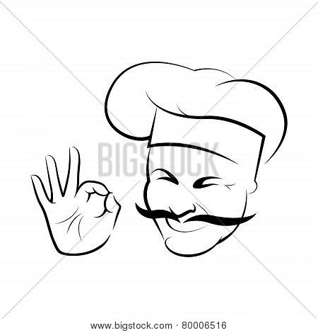 Chef symbol, such logo.