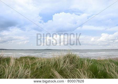 Sand Dune View Of The River Shannon