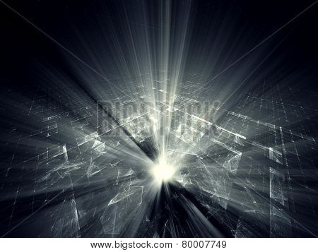Digital technology abstract background design