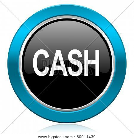 cash glossy icon