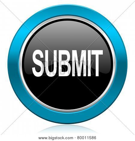 submit glossy icon