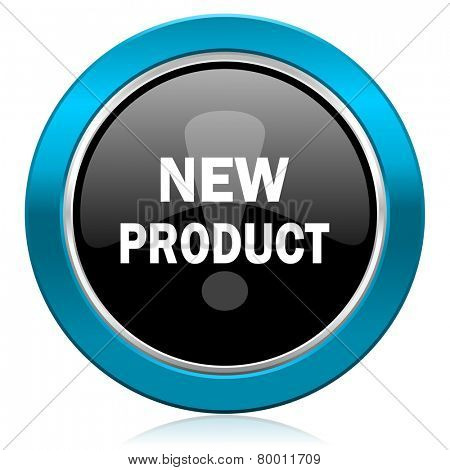 new product glossy icon