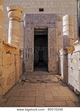 Gate of the Temple of Hatshepsut in Luxor