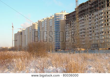construction of high-rise buildings