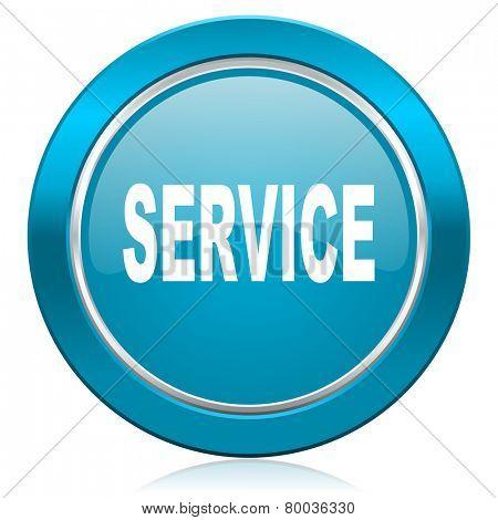 service blue icon