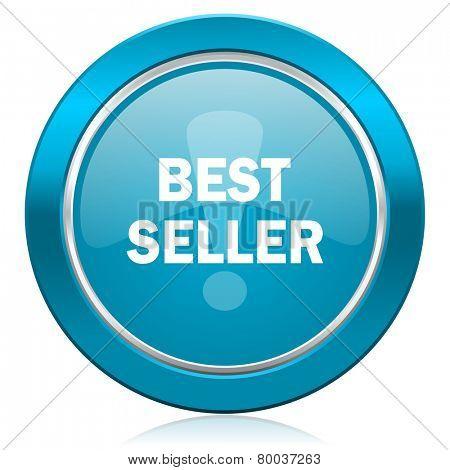 best seller blue icon