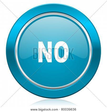 no blue icon