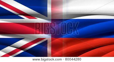 Great Britain VS Russia.