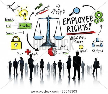Employee Rights Employment Equality Job Business People Concept
