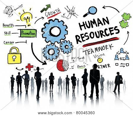 Human Resources Employment Teamwork Corporate Business People Concept