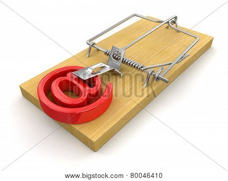 Mousetrap and E-Mail (clipping path included)