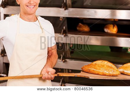 Fresh Baked Bread For You.