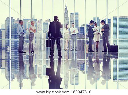 Diversity Business People Communication Discussion Team Concept
