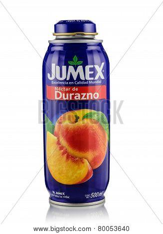 Can Of Jumex Peach Nectar