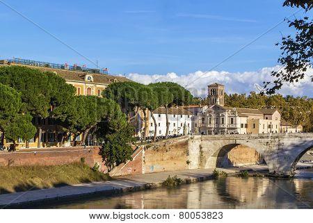 Pons Fabricius, Rome