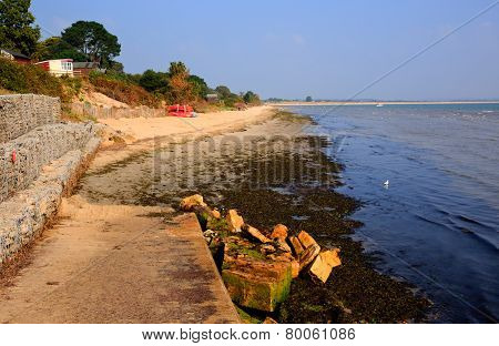 Middle beach Studland Dorset England UK located between Swanage and Poole and Bournemouth