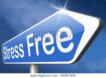 stress free zone or area relax without any work pressure succeed in stress test trough stress management reduce and control external pressure