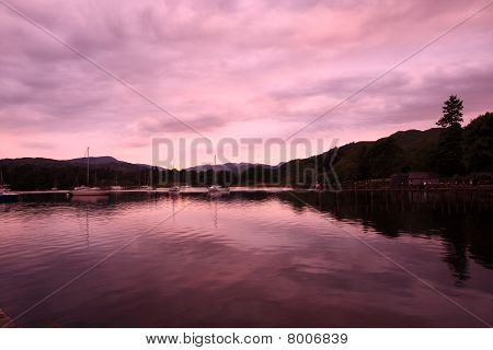 Lake District In The Evening