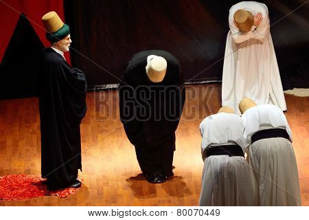 Whirling Dervish (semazen) Ceremony Of Greeting