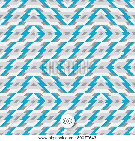 Seamless mosaic pattern. Geometric background. Vector Illustration. Can be used for wallpapers, backgrounds, web sites.
