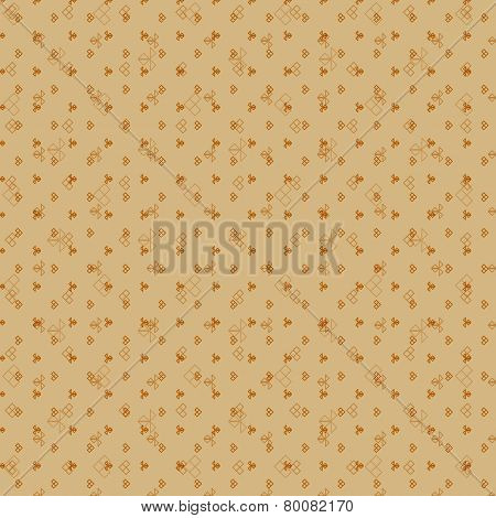 Geometric pattern seamless vintage background