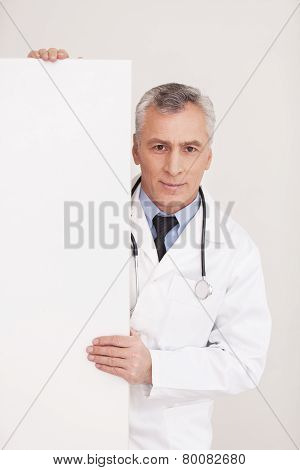 Doctor With Copy Space.