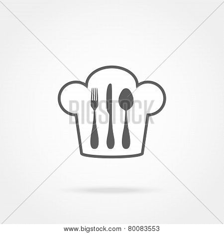 Cutlery And Chef Hat
